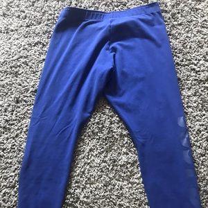 Nike Pants - L Blue Nike Active Leggings